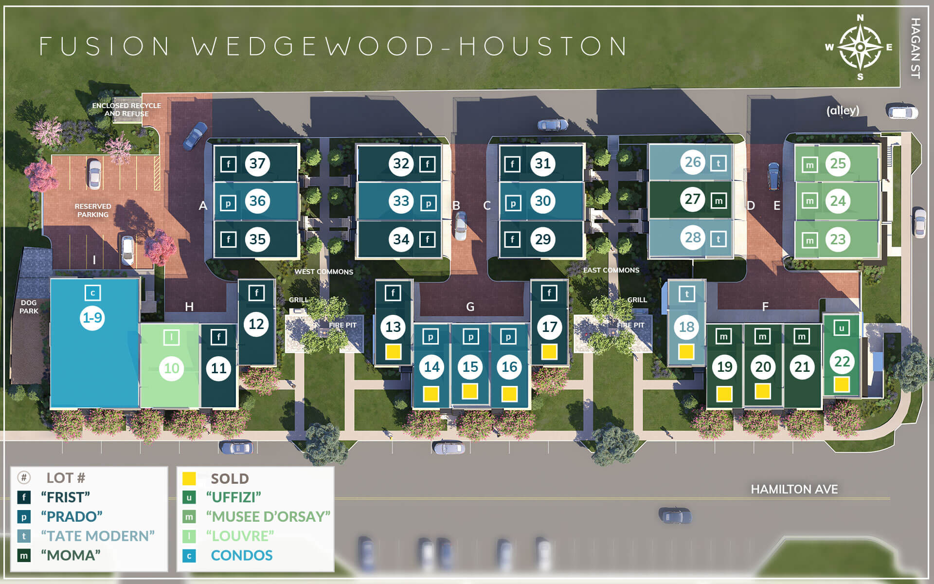 Locate your new home at FUSION on our Community Plan